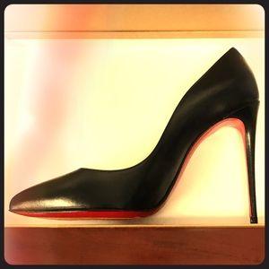 CL Pigaelle Follies 100 black leather